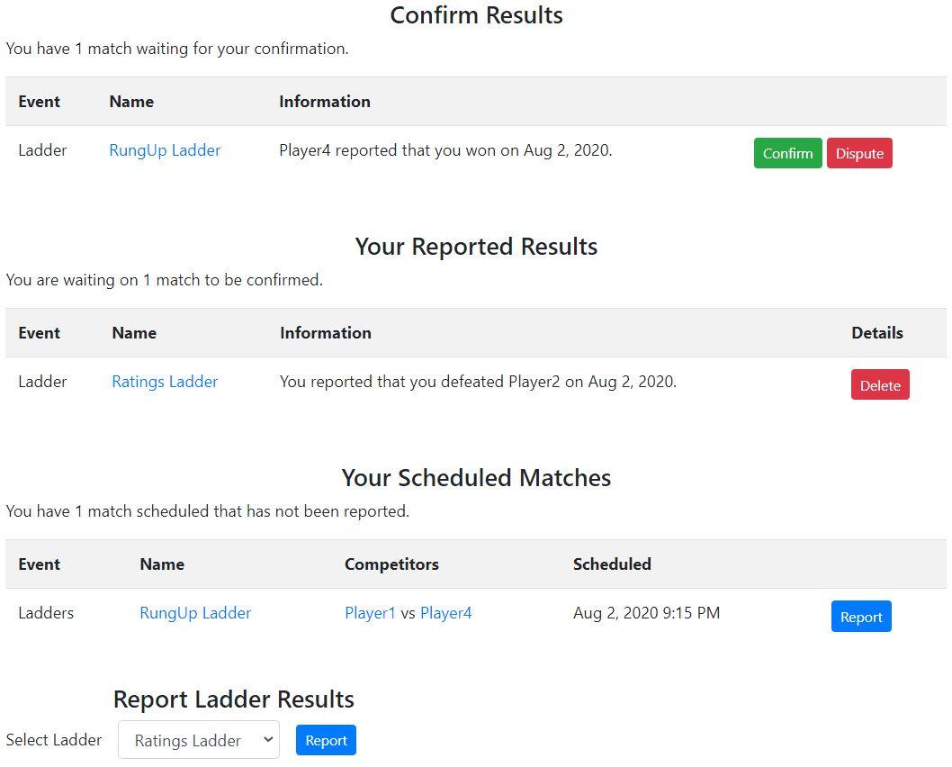 Report Dashboard